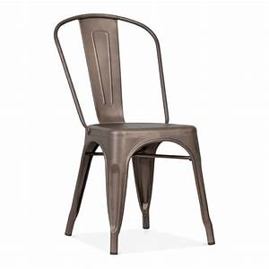 Tolix Style Industrial Rustic Side Chair Cult UK
