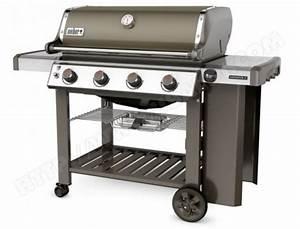 Barbecue Weber Gaz Pas Cher : weber genesis ii e 410 gbs smoke grey pas cher barbecue ~ Dailycaller-alerts.com Idées de Décoration