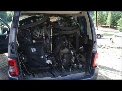 opel zafira trunk space youtube