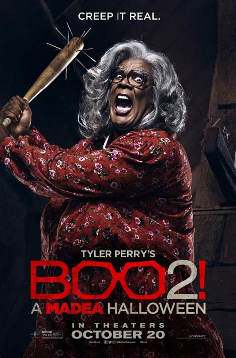 boo   madea halloween  trailer release date poster