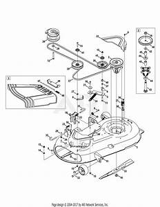 Troy Bilt 17arcacs011 Mustang 42 Xp  2014  Parts Diagram