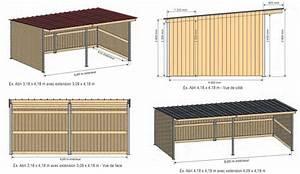 Abri En Kit : abri pour chevaux en kit 4 x 4 ~ Premium-room.com Idées de Décoration