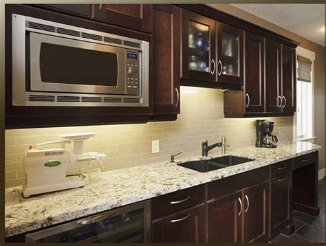 dark cabinets light granite light granite dark cabinets kitchen pinterest