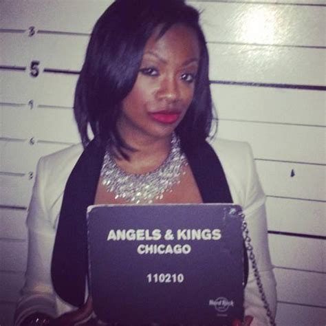 mug shot kandi burruss rocks   chicago photo ms