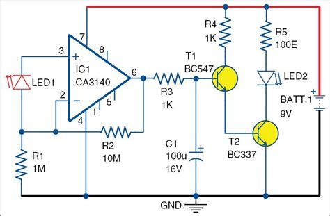 Led Light Sensor Electronics Yourself Project