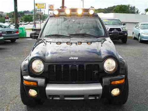 jeep liberty light bar purchase used 2004 jeep liberty renegade sport utility 4