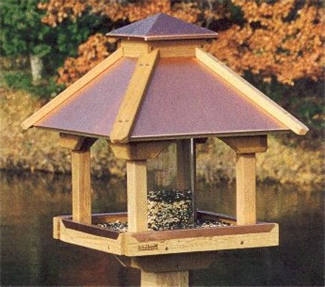 gazebo bird feeder plan unique bird feeder