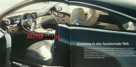 mercedes benz  class coupe revealed  leaked