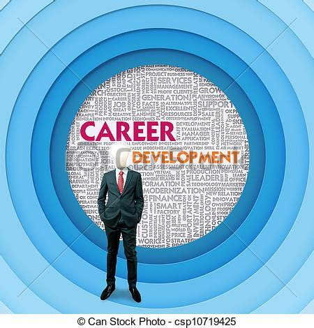 12862 career development clipart clip of business word cloud for business concept
