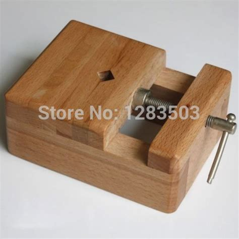 wood wooden bench vise vice clamp stamp carving clamping tools hand fixed handle diy ecological