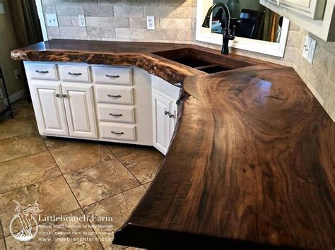 solid wood countertop  dream house kitchen