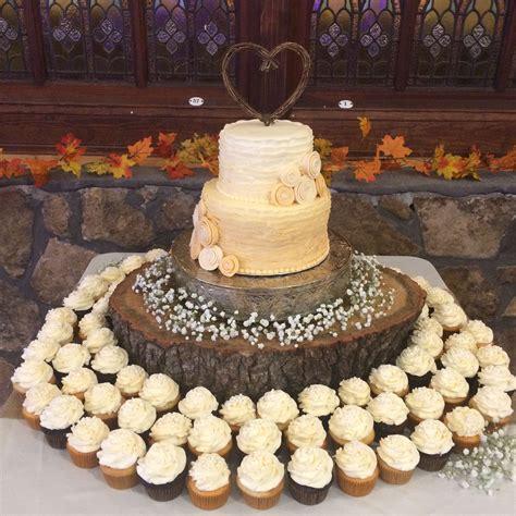 Rustic Wedding Cake Cupcakes Wedding Cupcakes Rustic