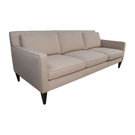 Vaughn Apartment Sofa by Furniture Crate Barrel Lounge Vaughn Apartment Sofa