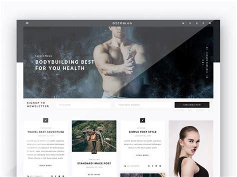 Personal Blog Design Template