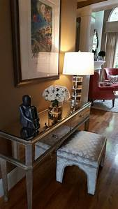 Foyer, Entry, Table, Sitting, Man, By, Jena, Collett