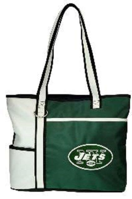New Gameday Tote Purse Bag NFL Licensed NEW YORK JETS ...