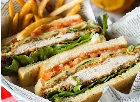 resep sandwich ayam krispi rumahan resep masakan praktis