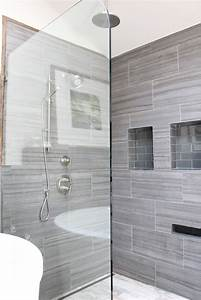 30, Grey, Shower, Tile, Ideas, And, Pictures