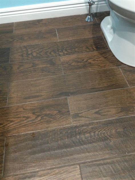 home depot wood look tile saddle porcelain wood look tile in upstairs bathroom home depot