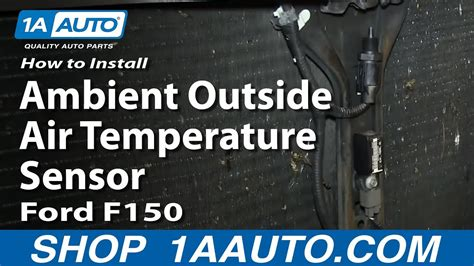 install replace ambient  air temperature