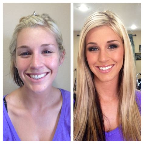 foto de 27 Unbelievable Before And After Make Makeup Photos I CAN