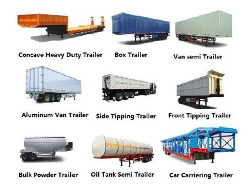 2/3 Axles Fence/stake Semi Trailer For Transport Bulk