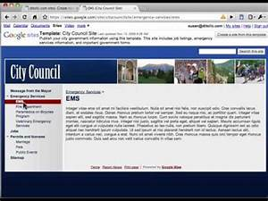 introduction to google sites template gallery youtube With google sites template gallery