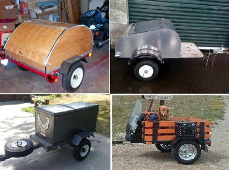 basic trailer setups pull  motorcycle trailers