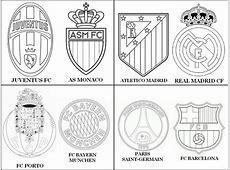 Disegno da colorare UEFA Champions League 2015 Quarti di