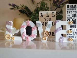 Tutorial fai da te: come realizzare romantiche lettere per decorare la casa YouTube