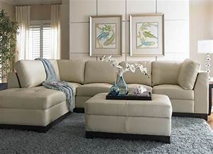 Havertys sectional sofa this cream leather sofa looks for Havertys leather sectional sofa