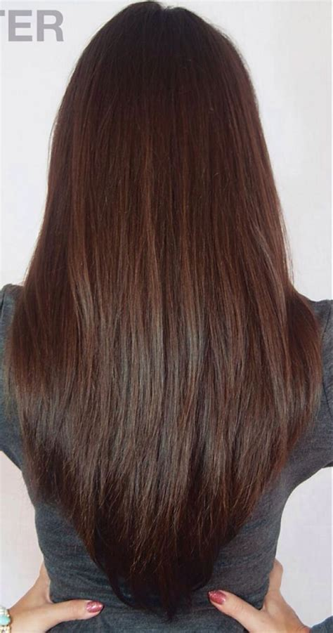 17 Best Ideas About V Layered Haircuts On Pinterest V
