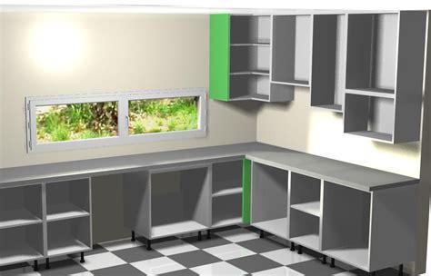 montando muebles altos de la izquierda  la cocina