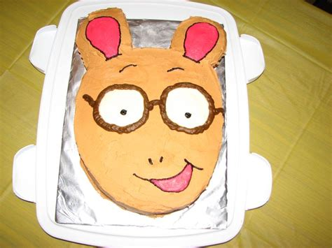 arthur birthday cake mjs birthday ideas pinterest