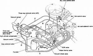 I Need A Vaccume Hose Diagram For A 1987 Mazda Pick Up Truck 2 0 B2000