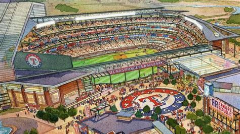 US$1 billion Texas Rangers ballpark for Arlington | OzSeeker