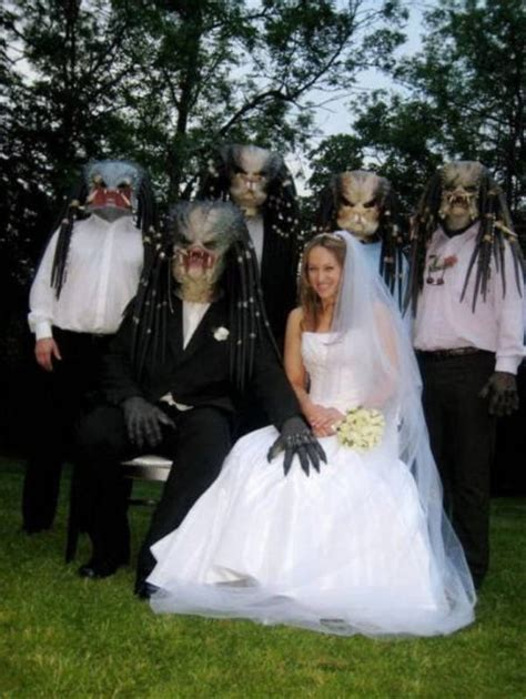 it s a nice day for a weird wedding thechive