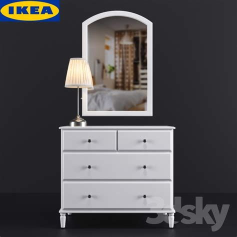 Ikea Dresser Table by 3d Models Sideboard Amp Chest Of Drawer Ikea Tyssedal
