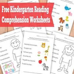 free reading comprehensions free kindergarten reading comprehension worksheets free homeschool deals