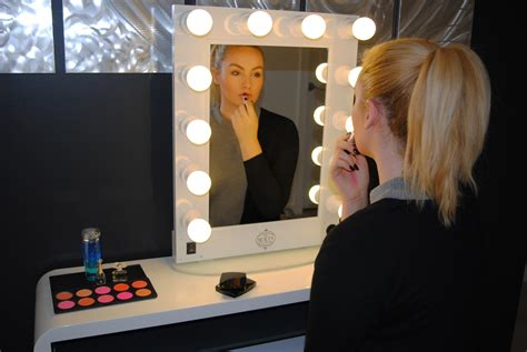 professional makeup vanity with lights professional white makeup artist hollywood lights vanity