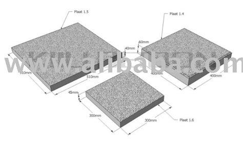 concrete slab decking tile photo detailed about