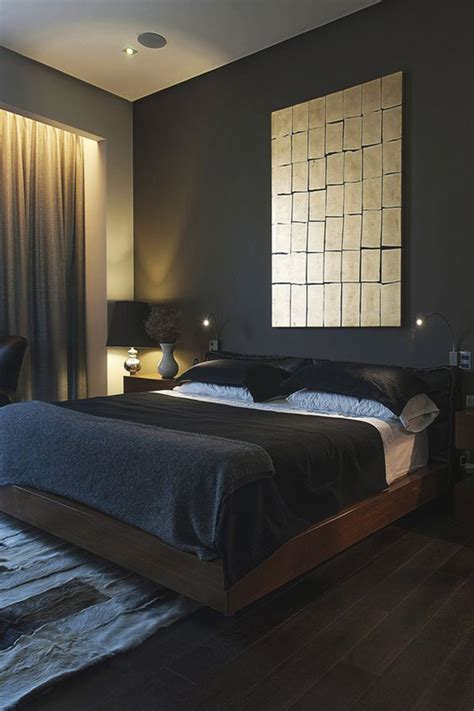 masculine bedroom ideas  bring  style homemydesign