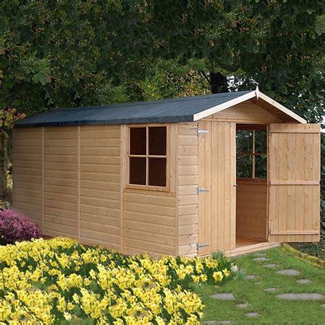 shire jersey shiplap apex shed    elbec garden buildings