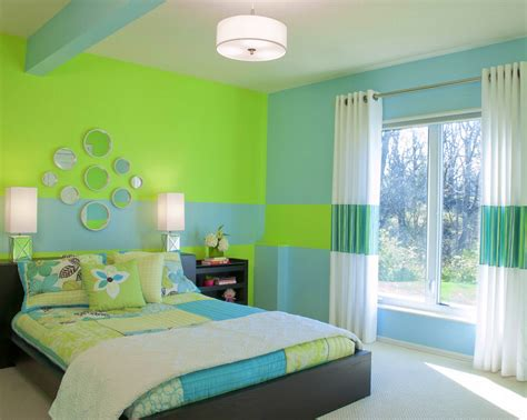 Bedroom Green Color Combination-home Combo