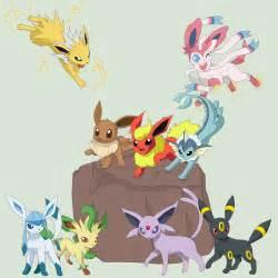 Pokemon 35 Eevee Evolution