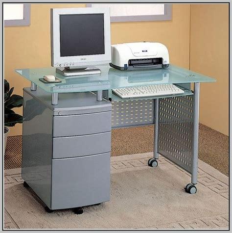desk with locking drawers under desk locking file cabinet desk home design ideas
