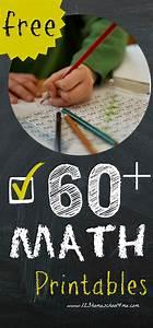 Math Worksheets  Over 60  Free Math Printables Prek