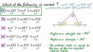 Lesson  Exterior Angles Of A Triangle