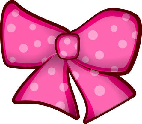 pearl bow hair clip pink bow clip at clker vector clip
