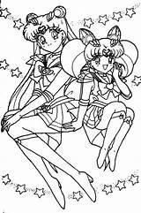 Sailor Moon Coloring Printable sketch template